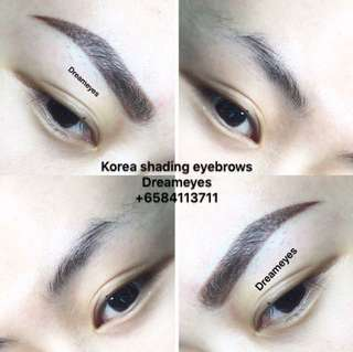 Korea Shading eyebrows ( Free one time touch up)