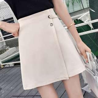 P13274 氣質不規則高腰裙