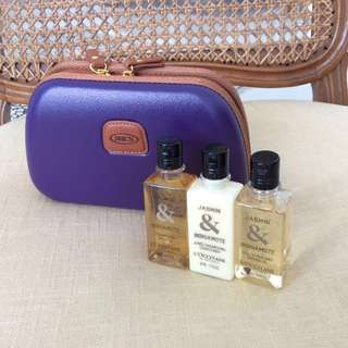 🔥GSSales🔥BN Bric's Amenity Pouch/Clutch & L'Occitane