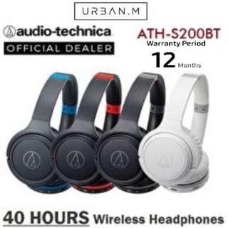 Audio-Technica ATH-S200 BT Wireless On-Ear Headphones