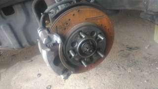 Brake Disc Proton Perdana dpn blkng 5 Lungs