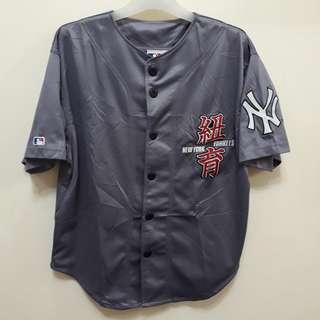 NEW YORK YANKEES BASEBALL JERSEY NY MLB baju tee