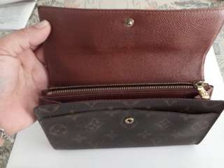 Auth LV Long wallet