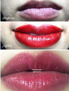 Collagen lips ( Free one times touch up)