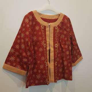 Red Batik Outer