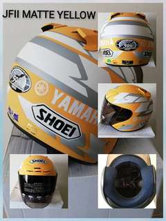 Shoei copy jf2 yellow matte
