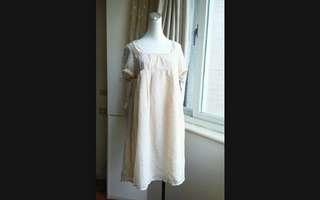 🚚 日本L.R 日系森林風 甜美高腰雪紡洋裝