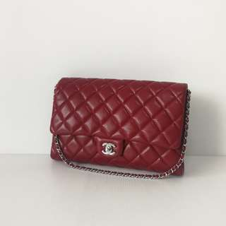 Authentic Chanel Classic Timeless Clutch