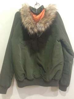 Army stradivarius jacket