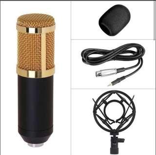 Condenser Microphone Recorder