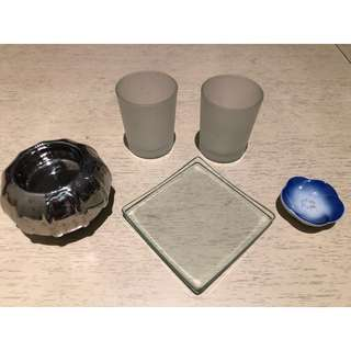 Candle holder set