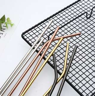 Reusable Stainless Steel Tumblr Straw