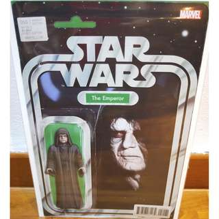 Star Wars #50 Action Figure Variant The Emperor