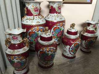 6-Piece Set Jar Vase