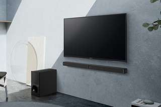 TV sound bar 2.1