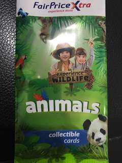 NTUC Animal Collectible Cards