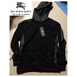 全新Burberry Black Label男裝棉質有帽外套 Size 4