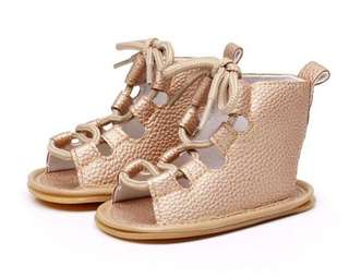 Baby Girl Gladiator Sandals 12M
