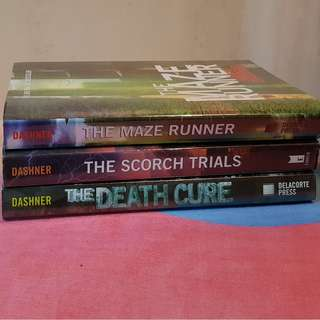 The Maze Runner Series (Book 1 to 3) RUSH SALE EXCELLENT CONDITION