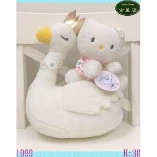 日本三麗鷗KITTY 25周年天鵝盒裝珍藏紀念版