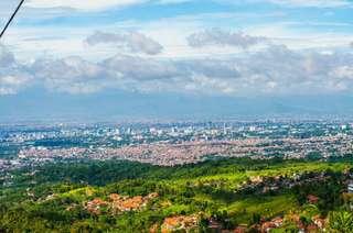 Wisata kota Bandung murah dan efesien