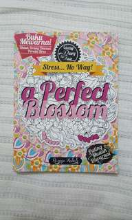Coloring Books a Perfect Blossom - Ranggi Auliah
