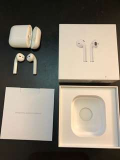 Apple Air Pods (Near New!)