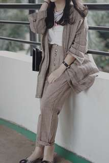 blazer and pants one set
