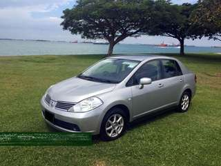 1 Week Car Rental Nissan Latio @ $350