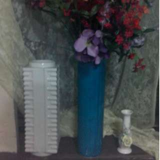 Three Flower Vases