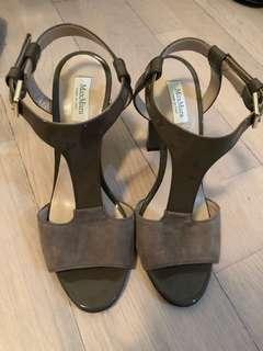 Maxmara 10cm shoes, size 38