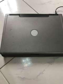 Vintage Dell laptop
