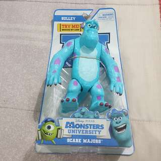 "Legit Brand New With Box Disney Pixar Monsters University Scare Majors Sulley 7"" Toy Figure"
