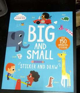 Start little learn big: big and small with stickers