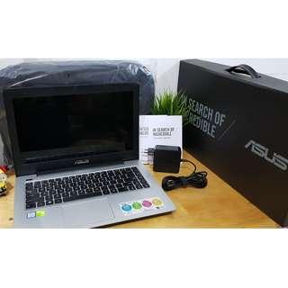 Laptop Asus A456UR - GA091D - i5 7200/4GB/1TB /NVIDIA GT 930MX 2GB