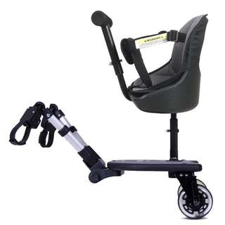 Seat/stand for stroller