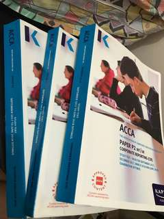 Acca P1,P2 and P3 text books