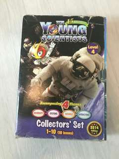 Full Set Young Scientist Level 4 2014
