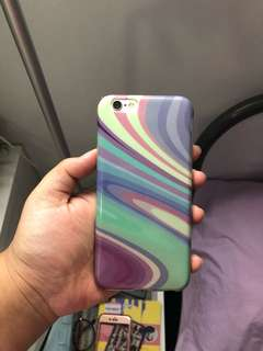 iPhone 6,6s Case - Water Marble