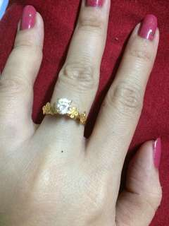 10k gold ring size 5.5 preloved
