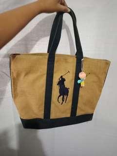 Authentic Ralph Lauren Rattan Bag