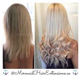 ✨MERMAID HAIR EXTENSIONS✨ Premium Hair Extension Services