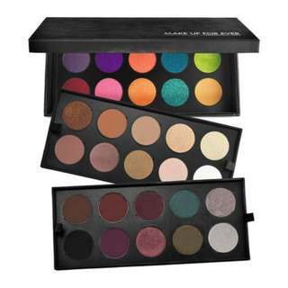 LIMITED EDITION! Make Up Forever Artist Shadow Collectors Palette
