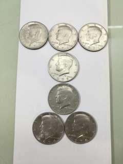 美元甘迺迪HALF DOLLAR