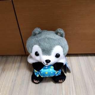 熊貓裝狐狸 灰