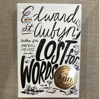 BRAND NEW: Lost for Words (hardbound)