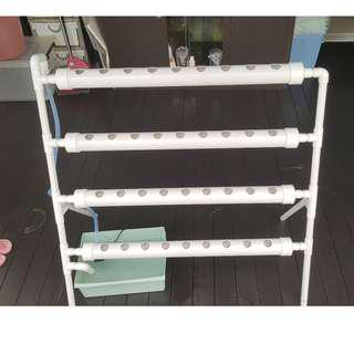 Full set 4 tier Hydroponic system