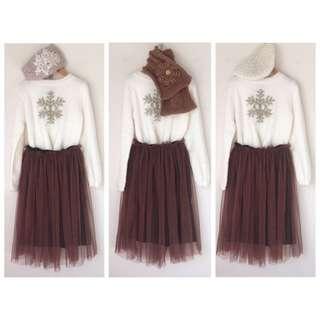 *NEW* Girls Fleece Knit Jumper Top Size 8