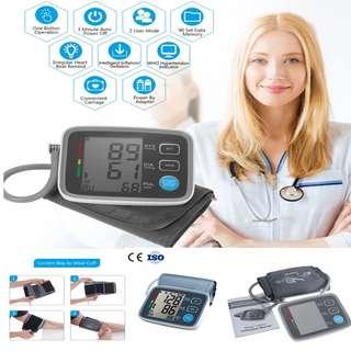 Arm Blood Pressure Pulse Monitors Health care Monitors Digital Upper Portable Blood Pressure Monitor meter sphygmomanometer