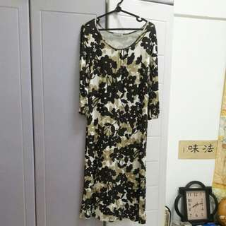 Floral long dress (bought in Japan)